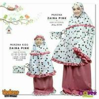 Harga diskon 20 size S mukena couple ibu dan anak ZAINA | WIKIPRICE INDONESIA