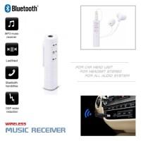 Harga wireless bluetooth receiver for audio sound system penerima | antitipu.com