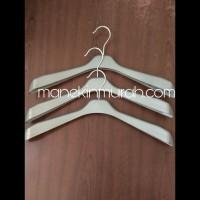 Hanger Atasan Dewasa Kode 181/Hanger Jas Murah Silver