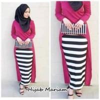 Fashion Grosir Ecer 01 stelan hijab mariam (3warna) supplier online