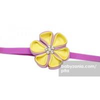 Pita Aiko Yellow Purple  Headband T2909