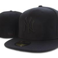 harga Topi Fitted Build Up Built Baseball Caps Ny New York New Era 59fifty Tokopedia.com