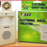 Bell pintu deteksi sensor gerak otomatis - Guest Saluting Flazz