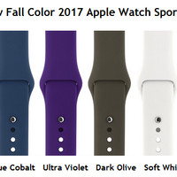 Apple Watch 42mm Strap Rubber Sport Band OEM Quality