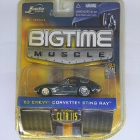 Diecast Jada Big Time Muscle '63 Chevy Corvette Sting Ray (AH206)