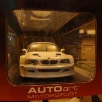 BMW M3 GTR Putih Rare Skala 18