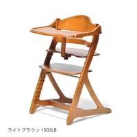 Yamatoya Sukusuku Plus Table High Chair - LIGHT BROWN