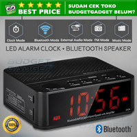 Bluetooth Speaker Alarm LED Clock - KD-66