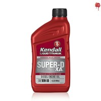 oli Kendall Super DX-A Synthetic blend SAE 10w30 w/ Liquid Titanium
