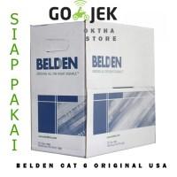 KABEL LAN UTP cat 6 / cat6 BELDEN made in USA meteran / eceran