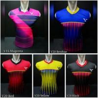 Jual Baju Kaos Singlet Badminton / Bulutangkis LiNing Victor Yonex Murah