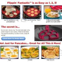 Cetakan Pancake  Serbaguna (Telur/Omelet/Pancake) Non Stick