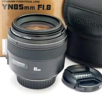 Lensa Yongnuo fix 85mm for Canon