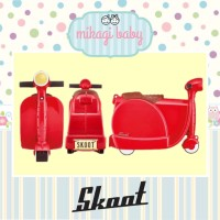Skoot Ride On Kids Luggage [RED]