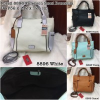 Fossil Emerson Hand Bag / Tas Wanita Branded / Tas Kerja / Tas Murah