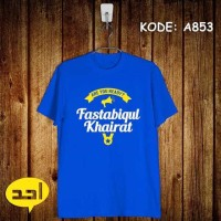 Kaos AHAD Unik Fastabiqul Khairat Are You Ready? murah