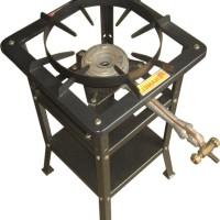 Kompor Gas Komersil High Pressure Manual + Rak 70cm