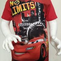 100% ORIGINAL DISNEY T SHIRT The Cars No Limits