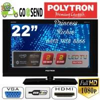 Led Tv Polytron 22D110 22 inch Full HD USB Movie