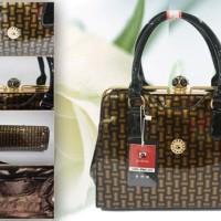 Harga tas murah selempang promo b0029 b 0029 brown grosir tas batam no | Pembandingharga.com
