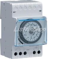 Timer / Time Switch Analog Din Rel 24 jam Hager - EH111