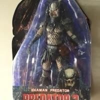 NECA Shaman Predator 2 Unmasked inc Spear dan Tombak weapon Figure