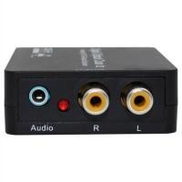 Digital to Analog Audio Converter (Support Dolby/DTS) P Berkualitas