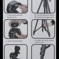 (Best Seller!!!) Tripod Kamera - I-Discovery Tr-666 ..