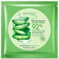 BIOAQUA SHEET MASK 92% ALOEVERA/ MASKER ALOE VERA