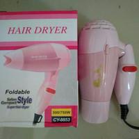 Hair Dryer mirip NOVA type CY-8853 500/750W