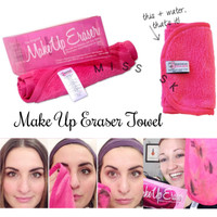 Handuk Make Up Eraser Towel / cleansing Berkualitas by: TOKO COSMETIC
