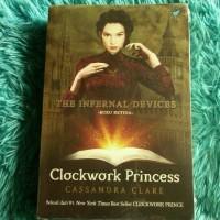 BUKU NOVEL BARU Clockwork Princess - The Infernal Devices #3