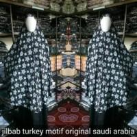 Jilbab Turkey Motif Original from Saudi Arabia