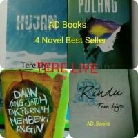 promo-Paket 4 Novel Tere Liye (Hujan, Pulang, Rindu, Daun yang Jatuh )