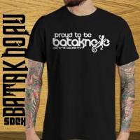 "Kaos Batak Distro ""Proud To Be Bataknese"" / Kaos Medan"