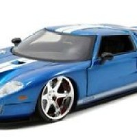 Jada 97204 - 1/32 2004 FORD GT FAST AND FURIOUS BLUE