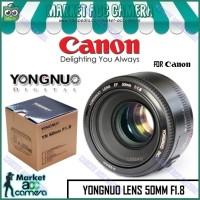 ORIGINAL EF LENSA YONGNUO YN50 50mm F1.8 for CANON / SONY / FUJIFILM