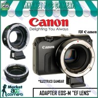 ADAPTER/CONVERTER EOS-M MOUNT to EF LENS (EOS M/M10/M3/M5/M6)