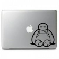Garskin laptop Stiker Big Hero 6 cute Baymax Sitting Cutting Sticker