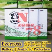 BATERAI CROSS EVERCOSS WINNER Y2 Y ULTRA A75G A75A DOUBLE POWER