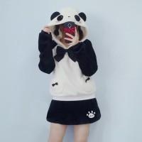 Blushing Panda Sweater