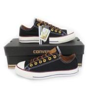 Sepatu Converse All Star Premium Pendek Hitam Putih ,Grade Original