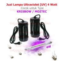LAMPU ULTRAVIOLET 4 WATT / NEON UV / BOHLAM PERANGKAP NYAMUK