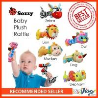 Mainan Sozzy Baby Plush Rattle
