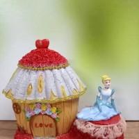 HIASAN CAKE RUMAH CINDERELLA (PMRMHCDL) HIASAN/PAJANGAN/TOPPER CAKE