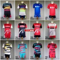 Jual Baju Olahraga Kaos Badminton Setelan Bulutangkis Lining Victor Yonex Murah