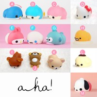 Moni Moni SANRIO limited edition squishy animals case cute wangi