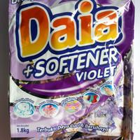 harga Daia Plus Softener Violet Deterjen Bubuk 1.8 Kg 1,8 Kg Tokopedia.com