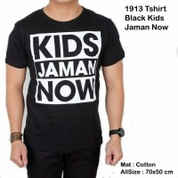 1913 Tshirt Black Kids Jaman Now / Kemeja Jaket Batik