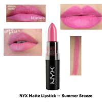sale nyx matte lipstick summer breeze original